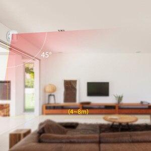 Image 3 - KERUI kablosuz Mini güvenlik PIR hareket sensörü manyetik döner taban kızılötesi dedektörler güvenlik koruma Mini kızılötesi dedektör