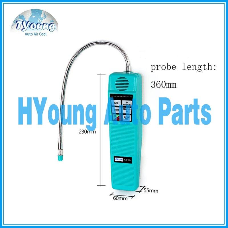 auto air conditioning system HLD-100 Halogen gas tester refrigerant leak detector R134a R12 R22 R600a, car ac repair tool air conditioning