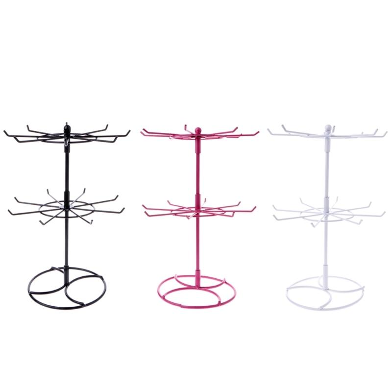 Coat Racks Responsible Free Shipping Fashion Single Curved Hook Light Hanging Bags Holder Adjustable Wig/silk Scarves/purse/handbag Display Stand Rack
