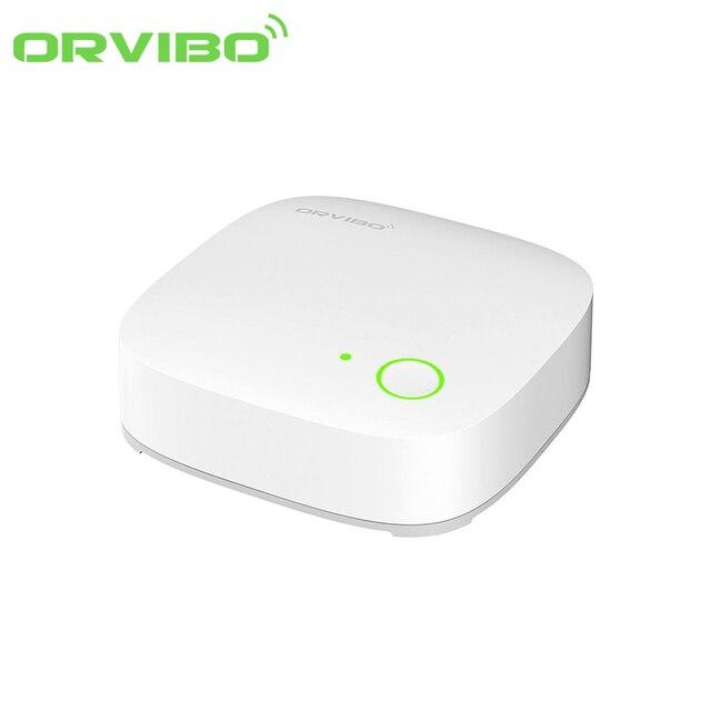 2017 new orvibo smart home controller automation zigbee smart mini hub wireless remote control. Black Bedroom Furniture Sets. Home Design Ideas