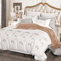 Liliya Freshly Bedding Set Sweet Bedding Set Comfortable Bedding Set Quilt Sheet 4 Pillowcase XH