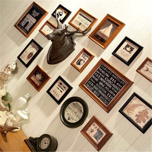 Online Shop Photo Frame Love Photo Frame Wall Composition Studio