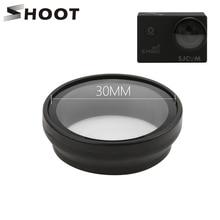 Shoot filtro uv para câmera de ação, filtro de ação para lente de câmera sjcam sj4000 sj4000 plus series wifi h9 h9r c30 sjcam sj4000 cam acessórios para câmera