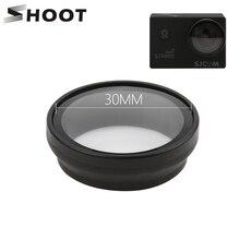 Shoot uv 필터 sjcam sj4000 sj4000 플러스 시리즈 wifi h9 h9r c30 액션 카메라 렌즈 필터 sjcam sj4000 캠 액세서리