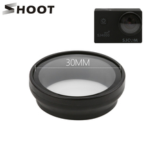 Strzelać filtr UV dla SJCAM SJ4000 SJ4000 plus serii Wifi h9 h9r C30 kamera akcji filtr obiektywu dla SJCAM SJ4000 Cam akcesoria