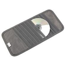 MultiFunction Car Interior Accessories Car CD DVD Holder 12Disc Storage Case Organizer Sun Visor Sunshade Sleeve Wallet Clips