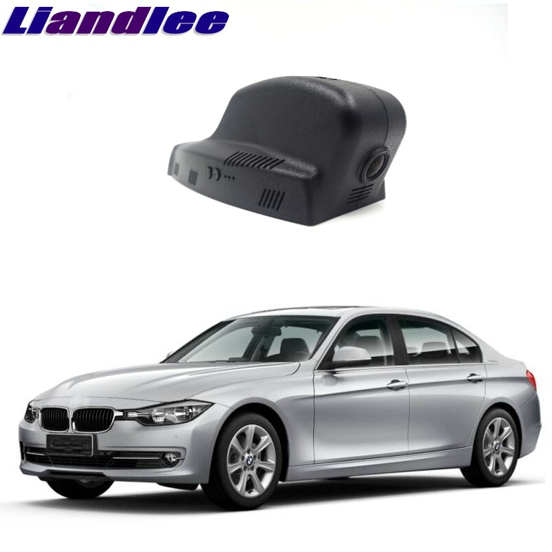 Liandlee For BMW 3 M3 E30 E36 E46 E90 E91 E92 E93 2001~2013 Car Black Box WiFi DVR Dash Camera Driving Video Recorder epman universal black 3 76mm polished aluminum fmic intercooler piping kit diy pipe l 450mm for bmw e30 3 series ep lgtj76 450