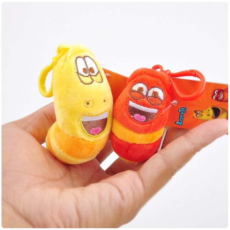 2Pcs/lot 3 Models Fun Insect Slug Creative Larva Plush Toys Stuffed Doll For Children Christmas Gift
