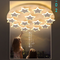 LED Ceiling Lights Children Room Bedroom Decor Lighting Ceiling Lamp For Baby AC85 260V Star Lampara