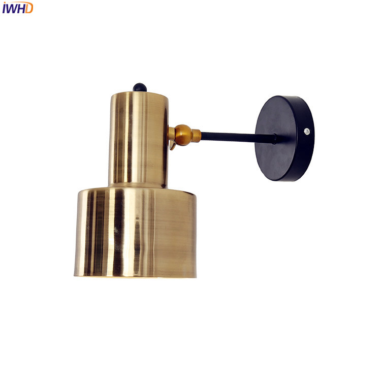 IWHD Nordic Modern LED Wall Lamp Bedroom Bathroom Beside Retro Wall Light Fixtures Sconce Luminaire Apliques Pared IWHD Nordic Modern LED Wall Lamp Bedroom Bathroom Beside Retro Wall Light Fixtures Sconce Luminaire Apliques Pared