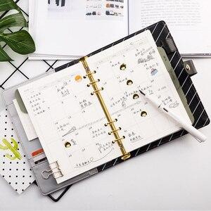 Image 4 - جدول أعمال 2020 دفتر الملاحظات مخطط Kawaii دفتر يوميات أسبوعية شهرية A5 مدرسة اللوازم المكتبية القرطاسية منظم الجدول الزمني