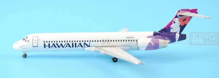 GJHAL1532 GeminiJets Hawaii Airlines N489HA 1:400 B717 commercial jetliners plane model hobby tomas stern настенные часы tomas stern ts 9068 коллекция настенные часы