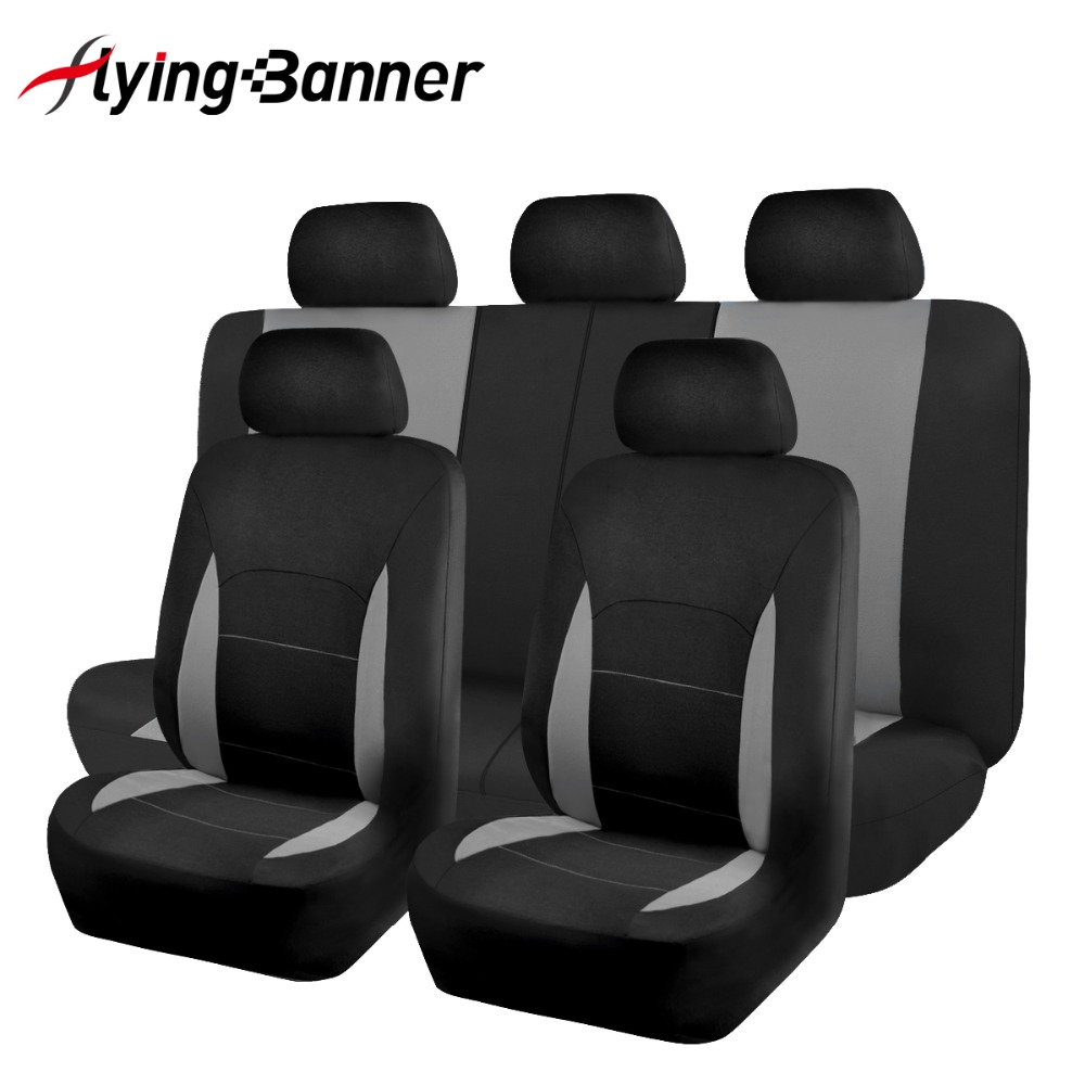 11PCS Full Set Car Seat Cover Universal Fits Automobiles Seat Covers For Car Lada Granta Toyota Nissan Auto Interior Decoration universal car seat cover fiber linen front cushion 3d car styling seat covers automobiles for toyota for hyundai 1pcs 3 colored