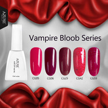 Azure 12ml Vampire Blood Series UV Gel Polish Classic Red UV Nail Gel Soak off UV