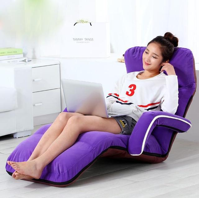 High-end personalizado multinacional Criativo sofá preguiçoso Cadeira Espreguiçadeira Dobrável Saco de Dormir Colchão Assento Do Sofá para casa
