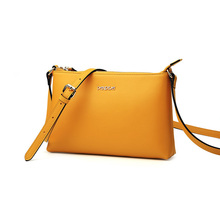 Fashion Concise Envelope Bag Japanese Korean Style Stylish Split Cowhide Single Shoulder Ladies Designer Small Crossbody Bag