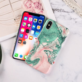 Marble Back Cover iPhone Xs 2