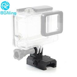 Mini riel de montaje Universal para cámara deportiva OSMO Action, 20mm, para GoPro Hero 3 + 4 5 6 7, SJcam YI EKEN