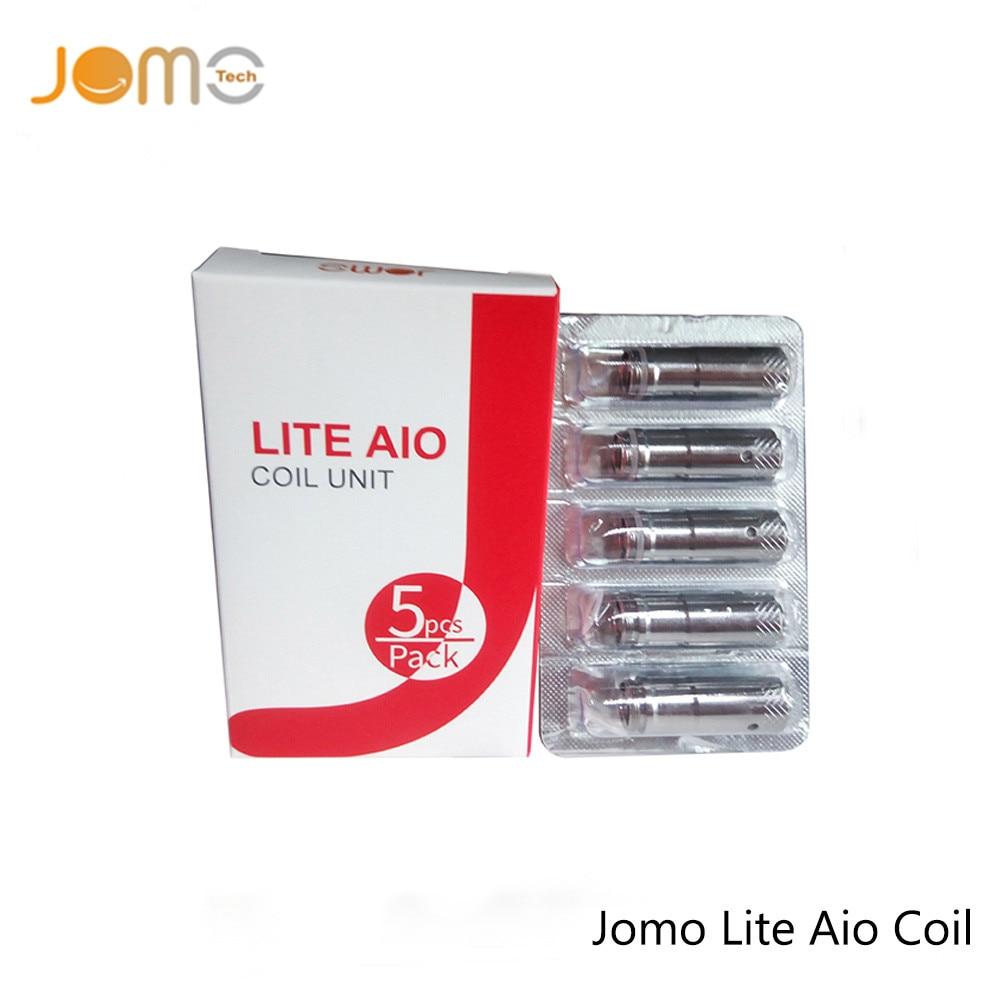 D'origine Jomotech Remplacement Bobine pour Lite AIO Bobine 0.4ohm Cigarette Électronique Atomiseur Core De Silice jomo-C13