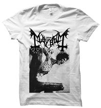 MAYHEM T SHIRT 1BURZUM EMPEROR WATAIN DARKTHRONE IMMORTAL BATHORY VENOM GORGOROTH Fashion Men T-Shirts Round Neck TOP TEE