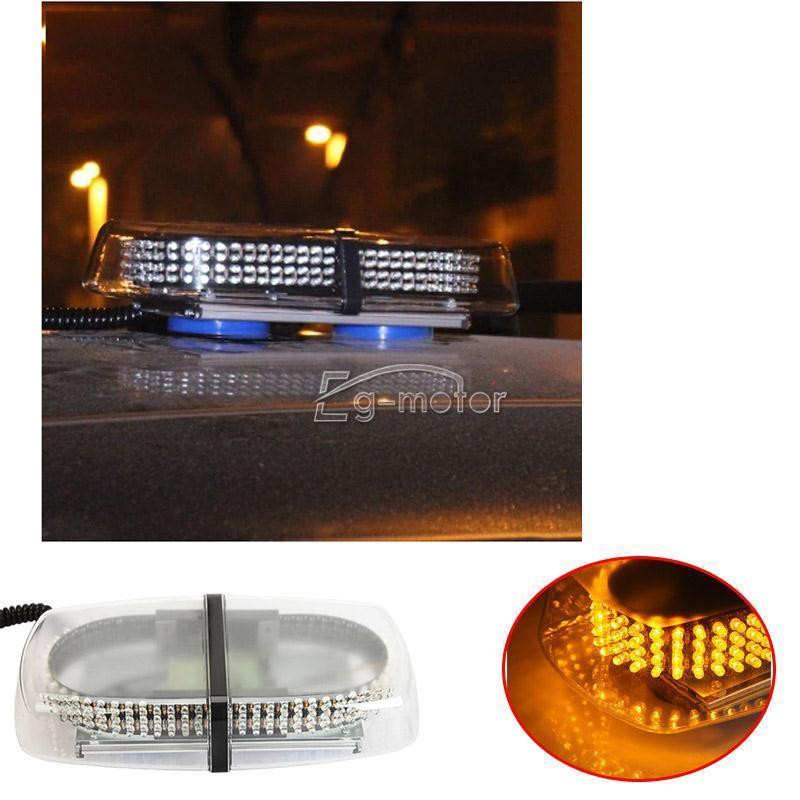 240 LEDs Advertencia Unidad de luz estroboscópica Ámbar Amarillo - Luces del coche - foto 6