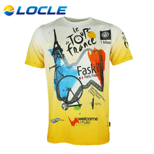 LOCLE Quick Dry MTB Bike Bicycle Clothes Ropa Ciclismo Racing Sports Cycling Clothing Motocycle T-shirt Mens Cycling Jersey