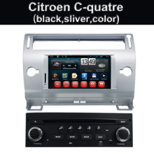 2 din android 7.1 in car dvd cd multimedia player with bluetooth wifi gps radio audio for Citroen C4 C-Quatre C-Triumph