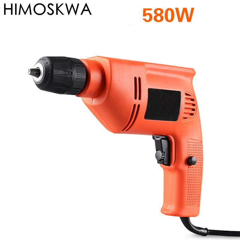 High Power 580W Electric drill Household electric screwdriver Multi function  copper wire hand drill power tools|Electric Drills|Tools - title=