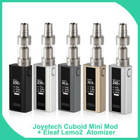 Original Joyetech Cuboid Mini Starter Kit With Lemo2 RTA Kit 80W 2400mAh Builtin Battery 510 Thread