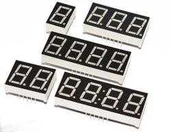 0,56 светодио дный дисплей 7 сегментов 1 бит/2 бит/3 Бит/4 бит разрядная трубка Красный общий катод/анод цифровой дюймов светодио дный LED 7