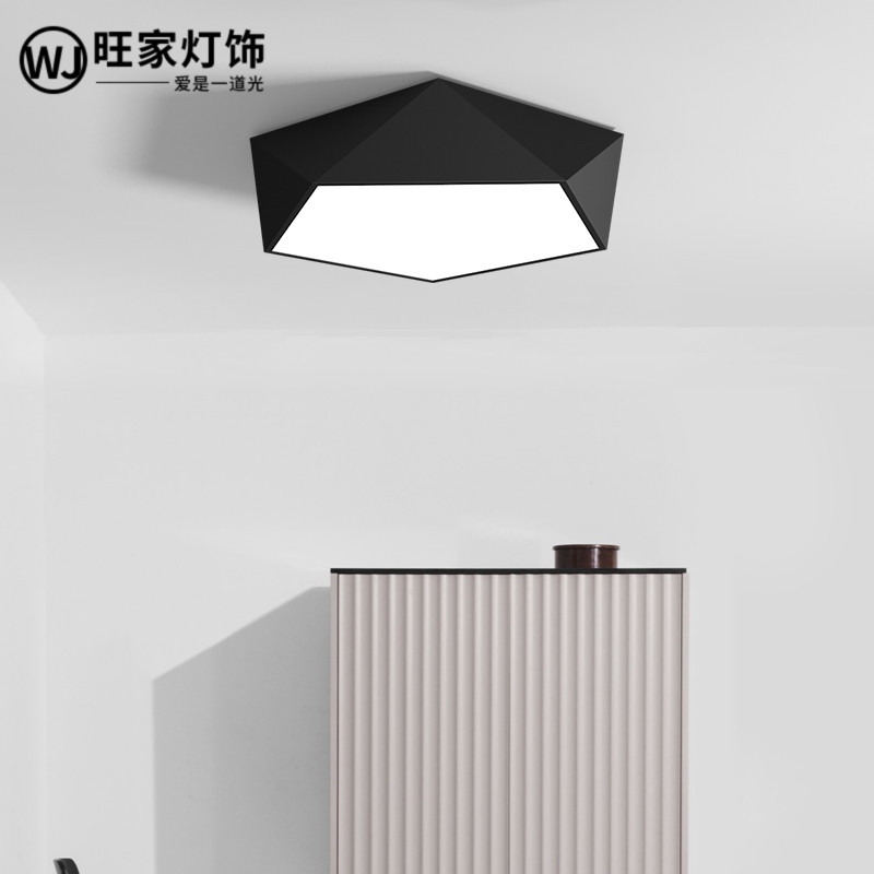 Personality geometry LED ceiling lighting, study room, dining room, living room lamp, modern minimalist Nordic bedroomPersonality geometry LED ceiling lighting, study room, dining room, living room lamp, modern minimalist Nordic bedroom