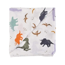 Dinosaur,Newborn,Coated Yarn,Bamboo Cotton Blanket,Baby Bath Towel