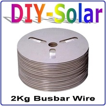 0.2*5.0mm Solar Cells Panel Busbar Wire / PV Ribbon, 788feet Solar Cells Soldering Tab Wire 120m Net Weight 2Kg