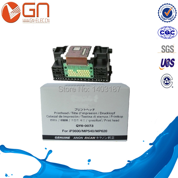 1 piece 95% NEW Remanufactured for Canon QY6-0073 printer head for Canon IP3680 IP3600 MP620 MP540 MP558 MP568 MX868 MX878