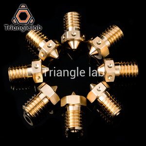 Image 5 - trianglelab Top quality V6 Nozzles for 3D printers hotend full size pack  3D printer nozzle for E3D Nozzles  titan extruder