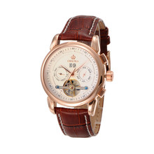 Orkina Luxury Brand Смотреть Мужчины Механические Часы Дата Дисплей Бизнес Наручные Часы Подарок Для Мужчин Relojes Часы