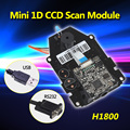 Free Shipping! 30pcs/lot OEM 1D Barcode Scanner CCD Sensor Scan Module RS232/USB Interface 4mil 1D Barcode Scan Engine