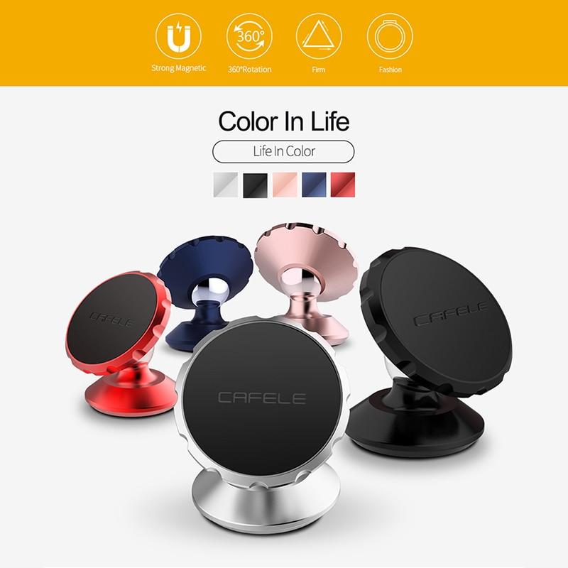 CAFELE Universal Magnetic Dudukan Telepon Mobil 360 Rotasi GPS - Aksesori dan suku cadang ponsel - Foto 5