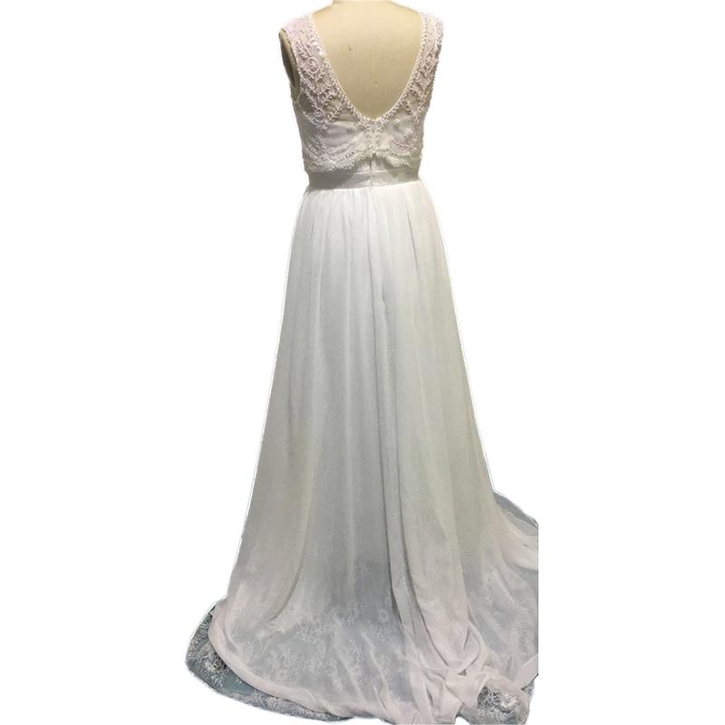 Lihi Hod Hochzeit Kleider Zweiteiler Scoop Sleeveless Low Back ...