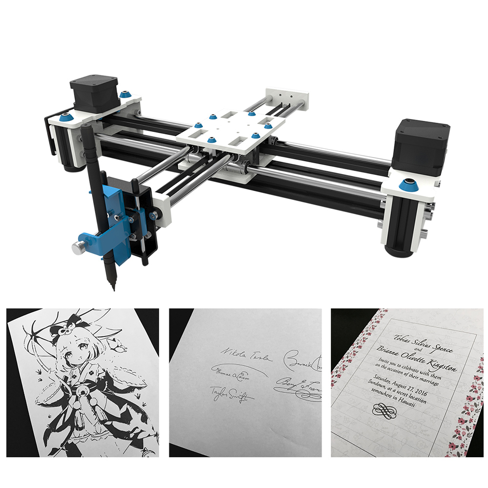 Desktop USB DIY XY Plotter Pen Drawing Robot Drawing Machine 100 240V