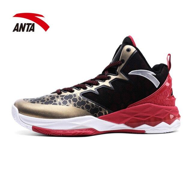 info pour 46cff 5af78 € 78.29 |Anta Hommes de Basket Ball Chaussures Porter Haut de Basket Ball  Chaussures dans Basket-ball Chaussures de Sports et Loisirs sur ...