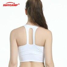 New Sports Bra Women Yoga Bra Absorb Sweat Padded Push Up Stretch Vest Running Underwear Running Underwear Drying Seamless цена