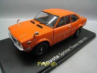 IXO 1/24 Scale Car Model Toys TOYOTA SPRINTER TRUENO 1600 Diecast Metal Car Model Toy For Collection,Gift,Kids,Decoration