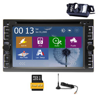 Audio GPS Map Car DVD CD IPod Autoradio EQ Stereo Radio RDS MP3 In Deck PC