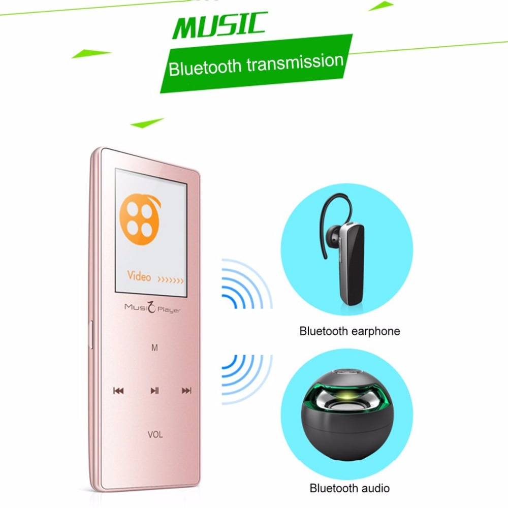 Unterhaltungselektronik Hifi-player Frank 1,8 Zoll Touch Screen Mini Bluetooth Mp3 Player Hifi Musik Player Fm Radio Schrittzähler Video Recorder E-book Lesen Geschickte Herstellung