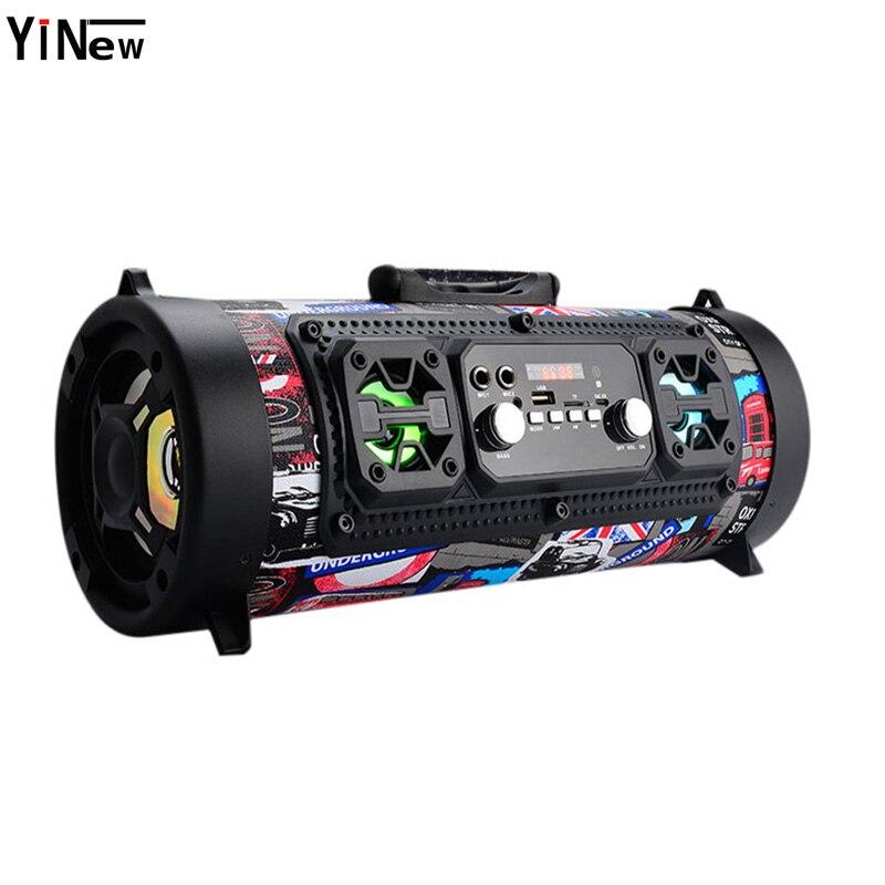 Hifi Tragbare Bluetooth Lautsprecher FM Radio Bewegen KTV 3D Sound system Sound bar subwoofer tragbare spalte bluetooth lautsprecher FM radio