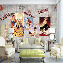 European and American characters background wall professional production murals wholesale wallpaper custom poster photo