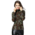 2017 nueva llegada del otoño y del invierno de las mujeres de manga larga y cuello alto que basa la camisa, además de terciopelo con Corea estilo caliente de la manera femenina