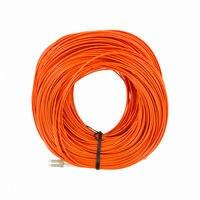 100M LC LC Duplex 50/125 Multimode Fiber Optic Patch Cable Cord Jumper