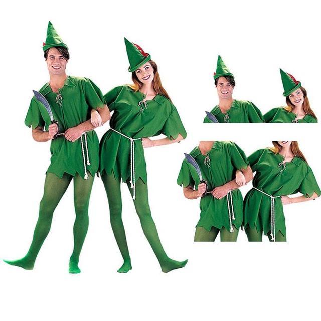 Cosplay Halloween Green Sprite Green Robin Peter Pan Adult Peter Pan Costume Child Kids Cartoon Movie  sc 1 st  AliExpress.com & Cosplay Halloween Green Sprite Green Robin Peter Pan Adult Peter Pan ...